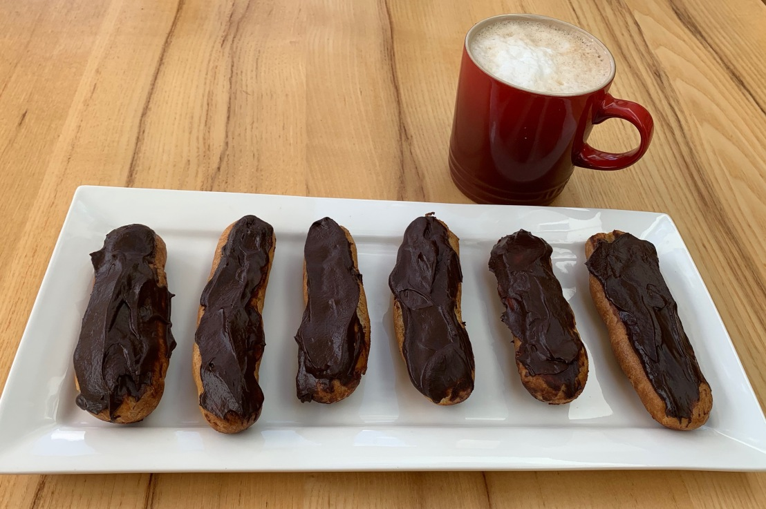 Around the world in 80 bakes, no.14: chocolate eclairs from France