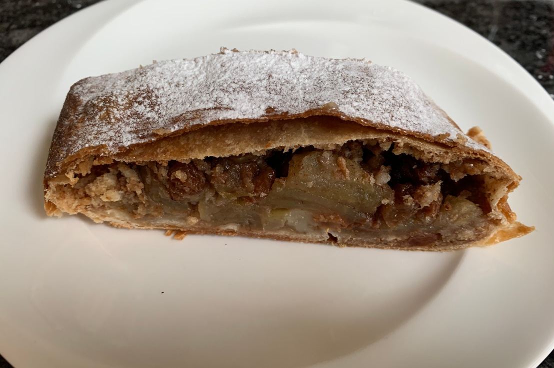 Around the world in 80 bakes, no.25: Apple Strudel from Hungary