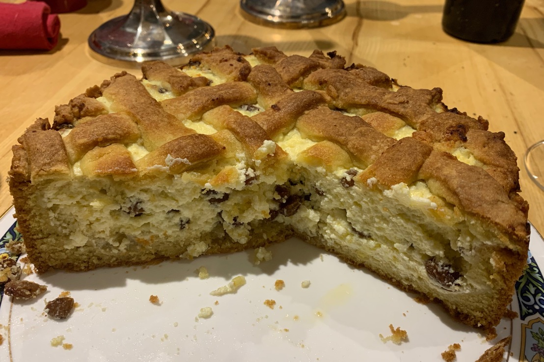 Around the world in 80 bakes, no.28: Sernik from Poland