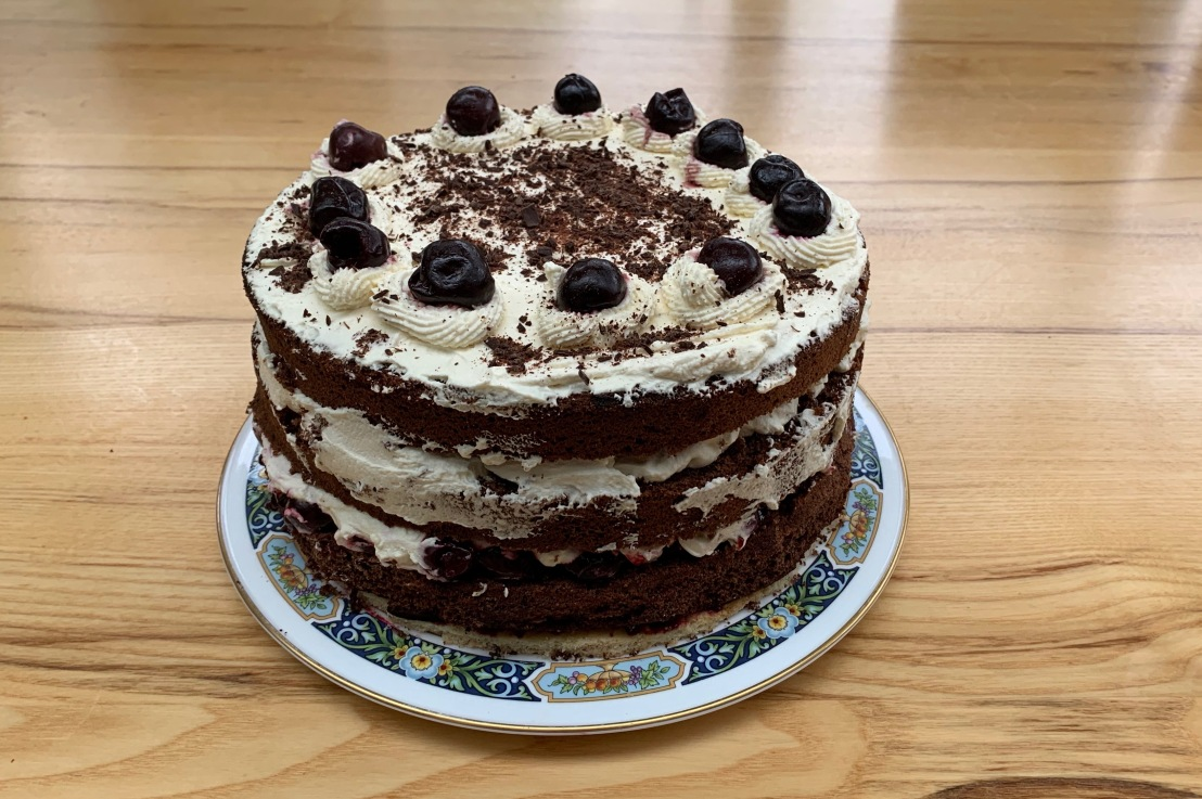 Around the world in 80 bakes, no.33: Black Forest gâteau from Germany
