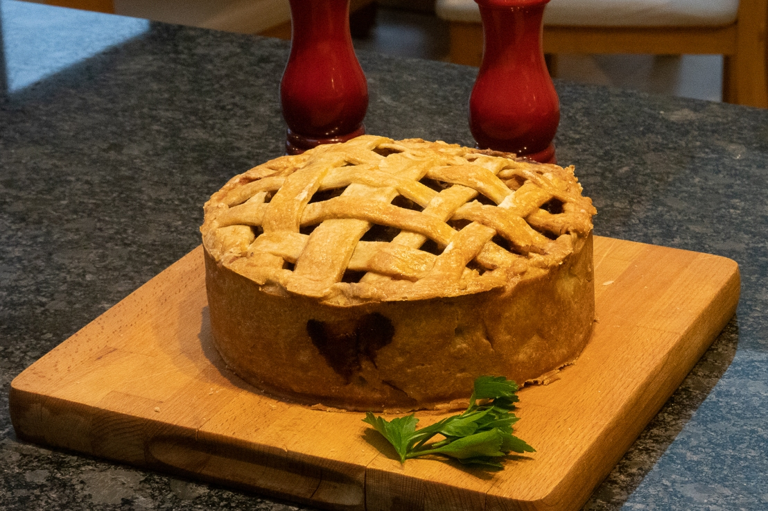 Around the world in 80 bakes, no.38: English Game Pie