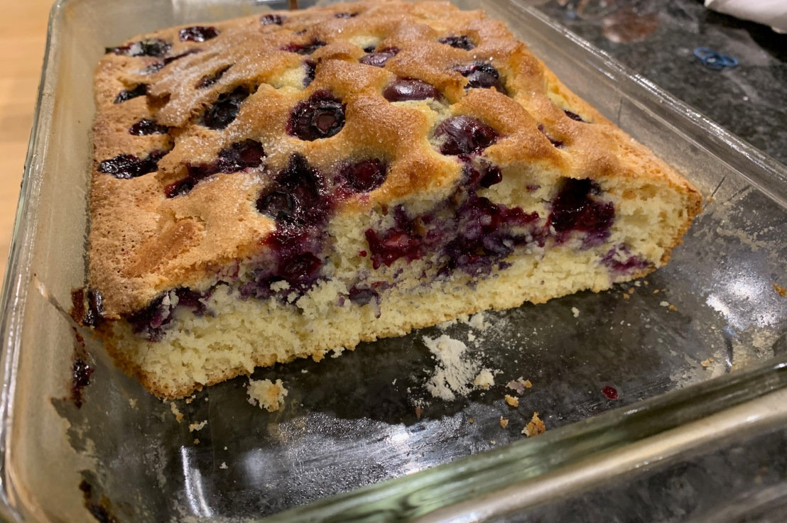 Around the world in 80 bakes, no.41: Bublanina from the CzechRepublic