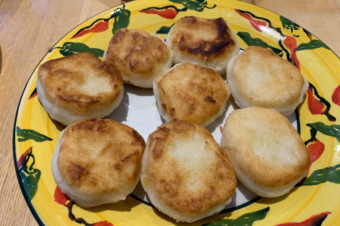 Around the world in 80 bakes, no.57: Arepas fromVenezuela