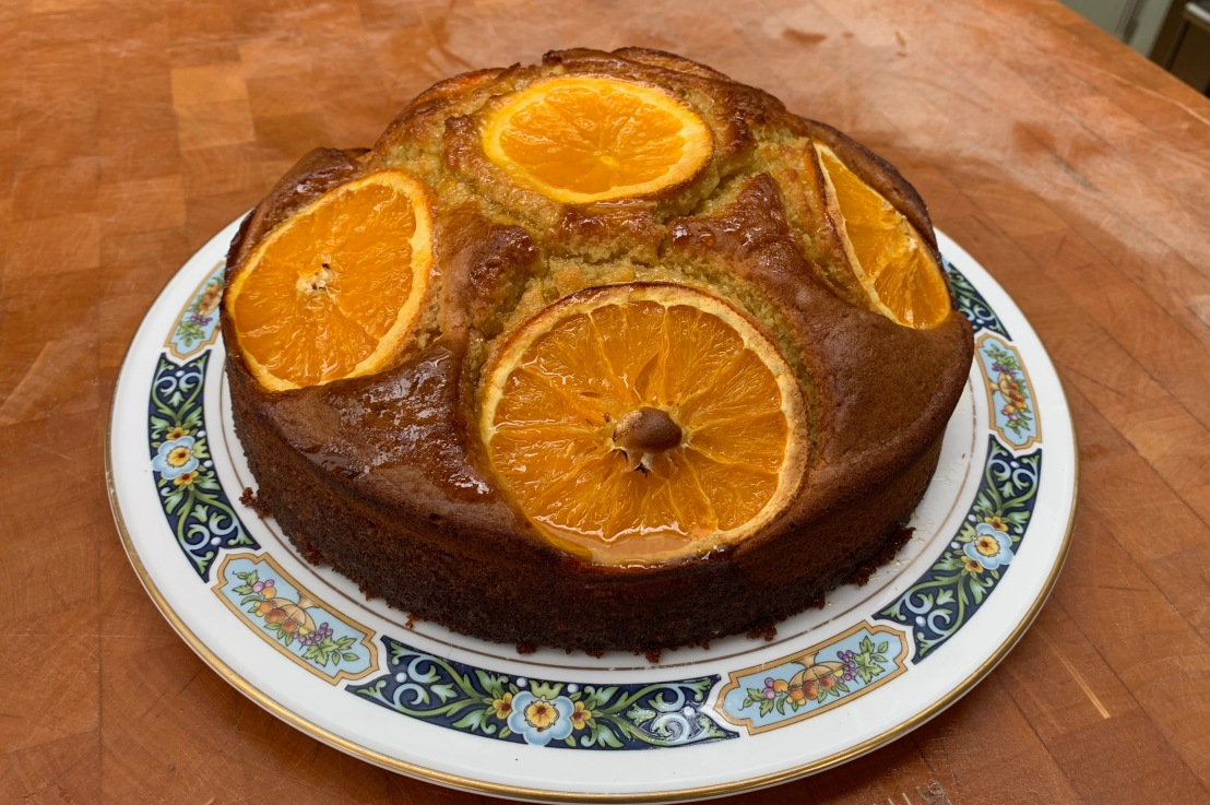Around the world in 80 bakes, no.60: Khobzet borgden – Tunisian orangecake