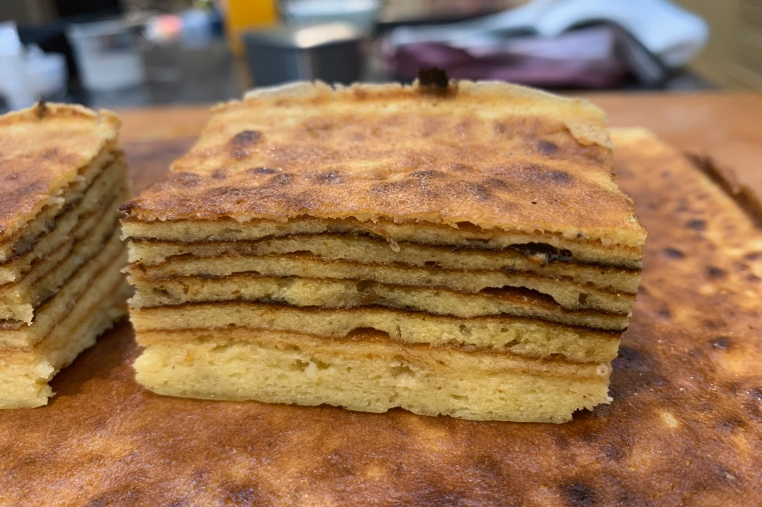 """Around the world in 80 bakes, no.70: Kue Lapis Legit – """"thousand layer cake"""" fromIndonesia"""